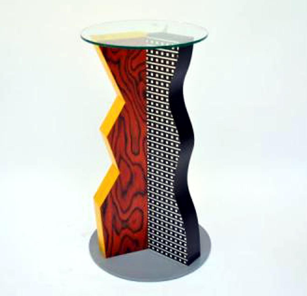 Table Ivory Ettore Sottsass Memphis Modernism