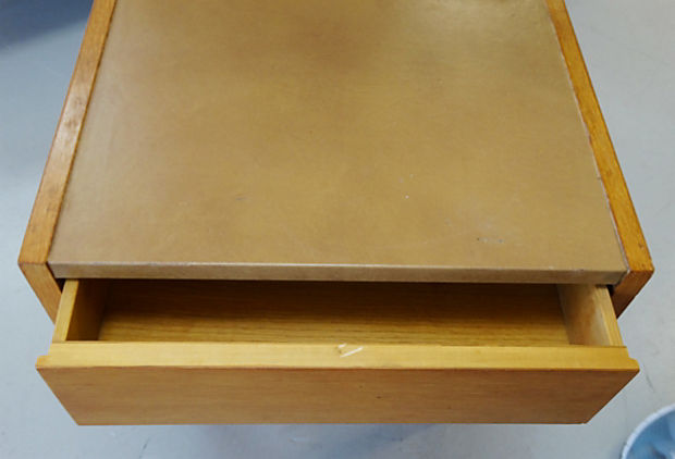 George Nelson Lighted Side Tables With Planters, Pair