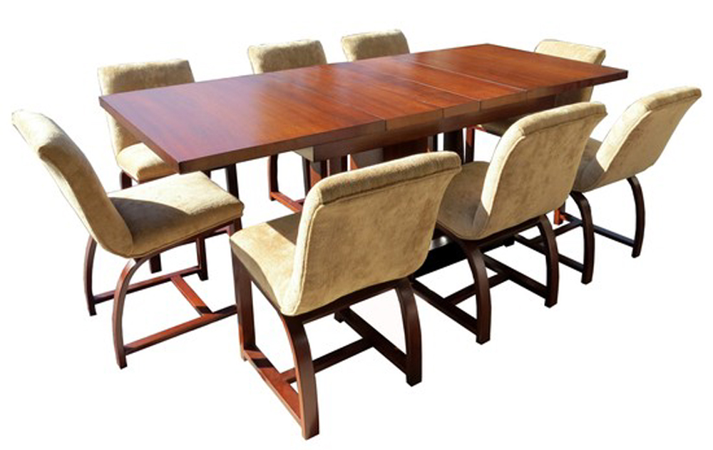 Gilbert rohde american art deco dining room modern home for American home furniture gilbert hours