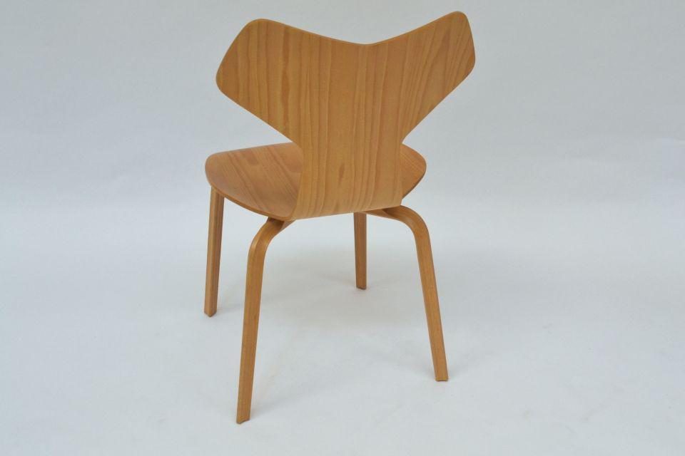Set of 6 chairs grand prix arne jacobsen fritz hansen modernism - Chaise grand prix jacobsen ...