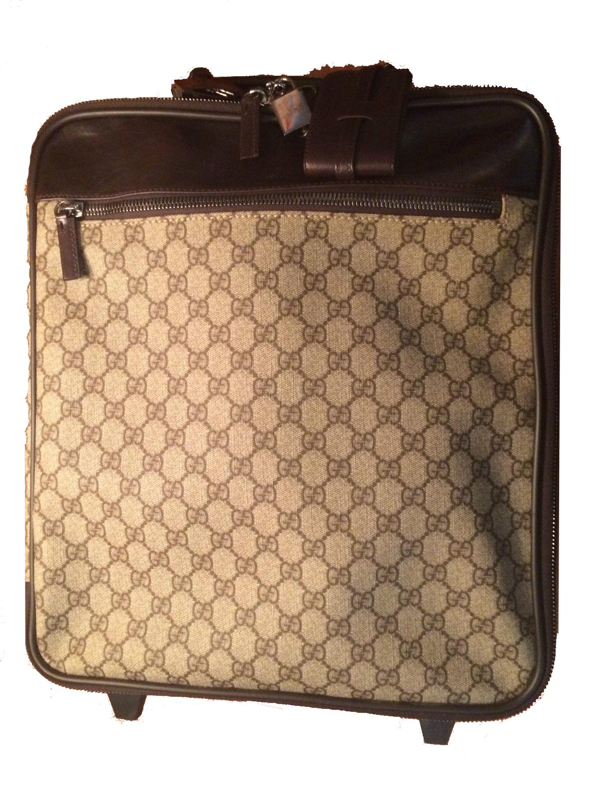 Gucci Wheeled Deisgner Suitcase Modernism