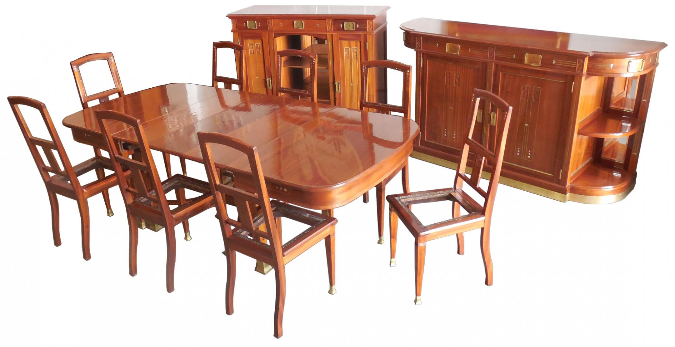 Henry Van De Velde Dining Room Set ART NOUVEAU Modernism