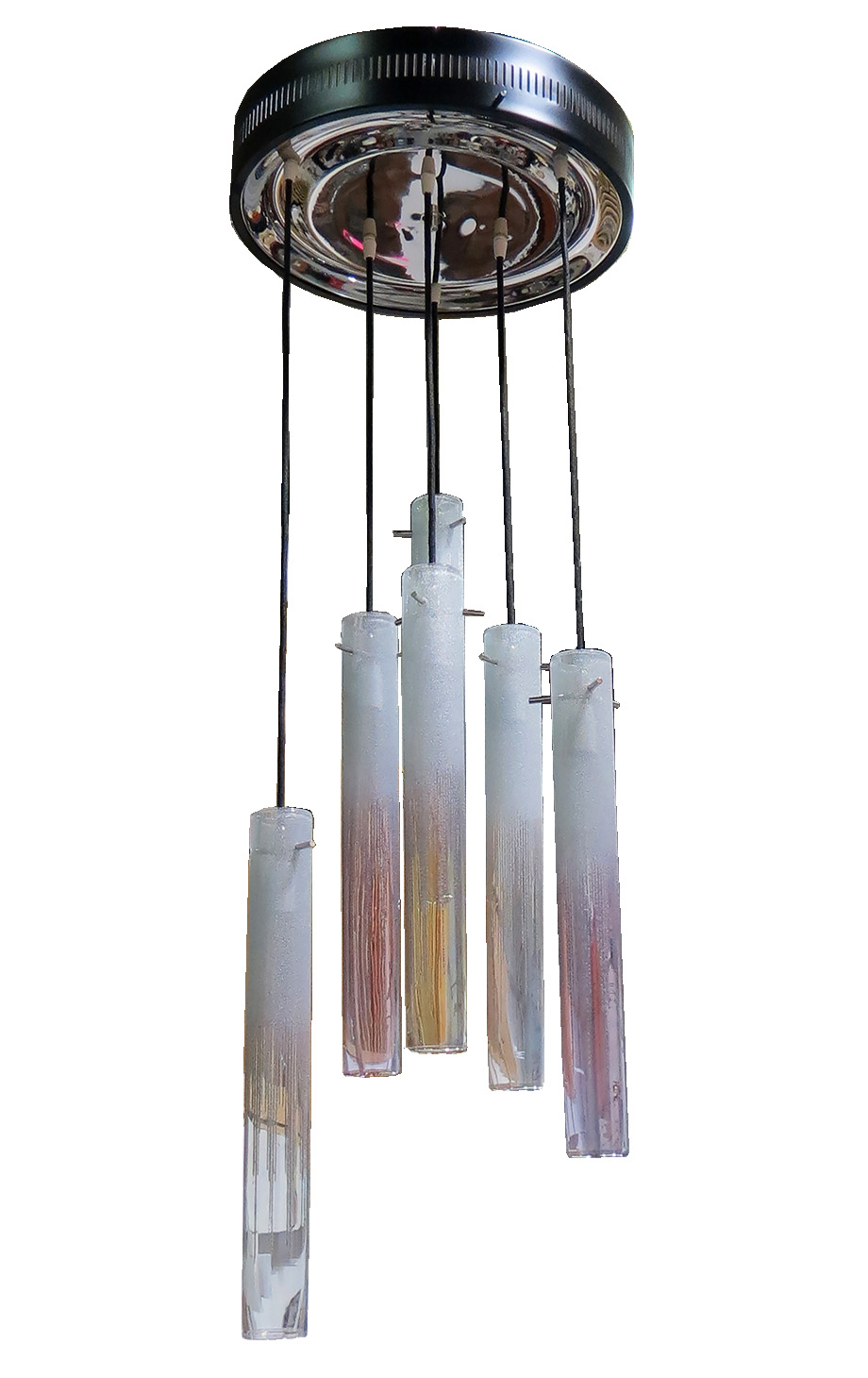 Spectacular Italian Design M C M Murano Six Light