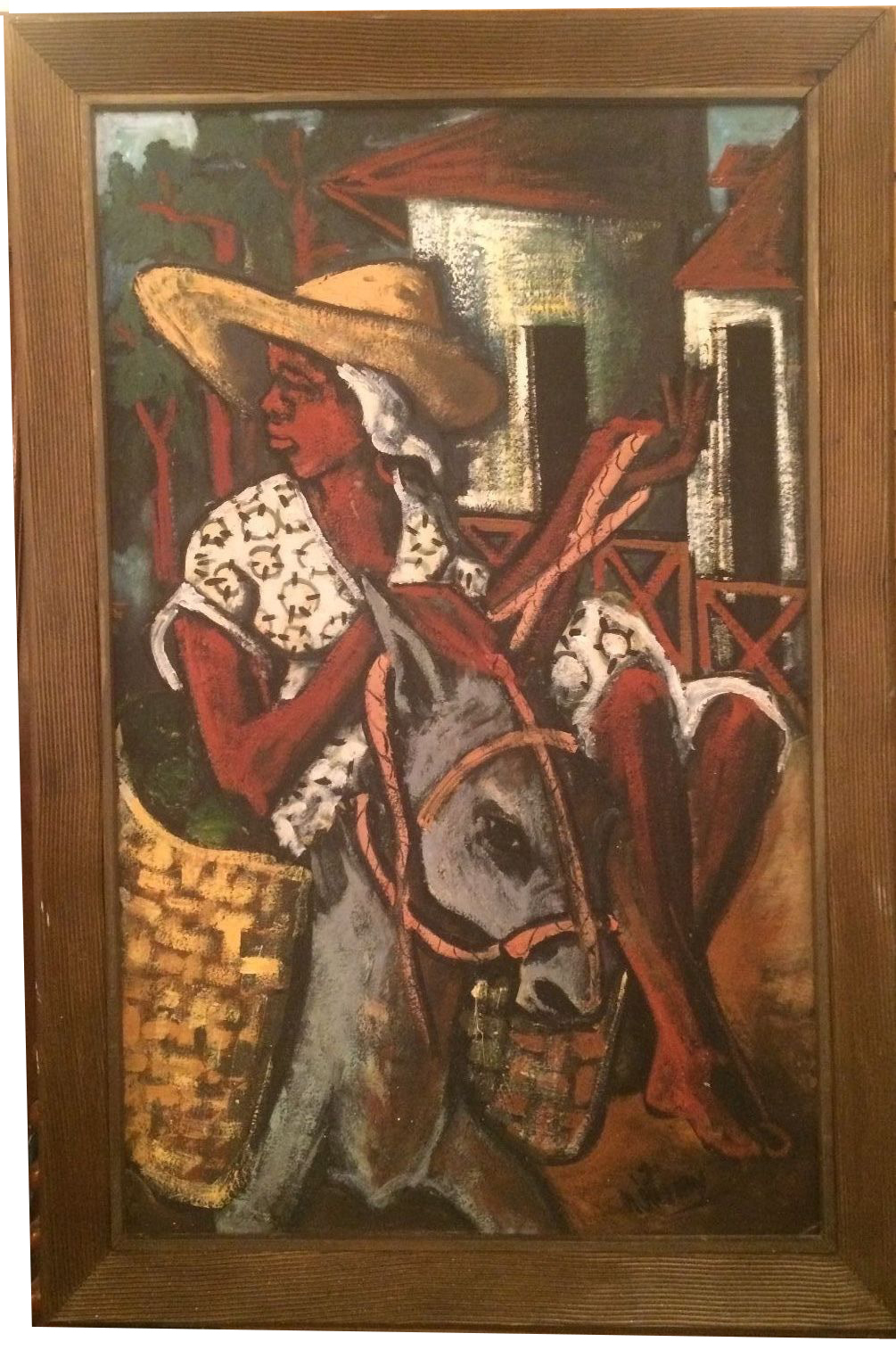 How To Change Oil >> Jean Nehemy Haitian Oil Painting | Modernism