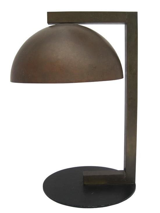 Rare Kurt Versen American Art Deco Table Lamp Modernism