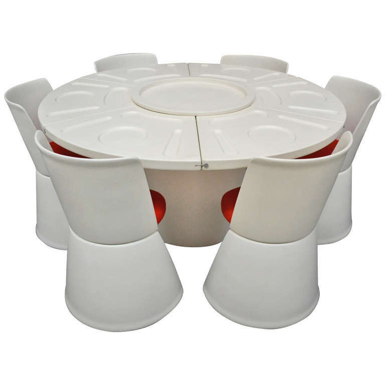 Italian Design By Fabio Lenci For Bernini Modular Dining
