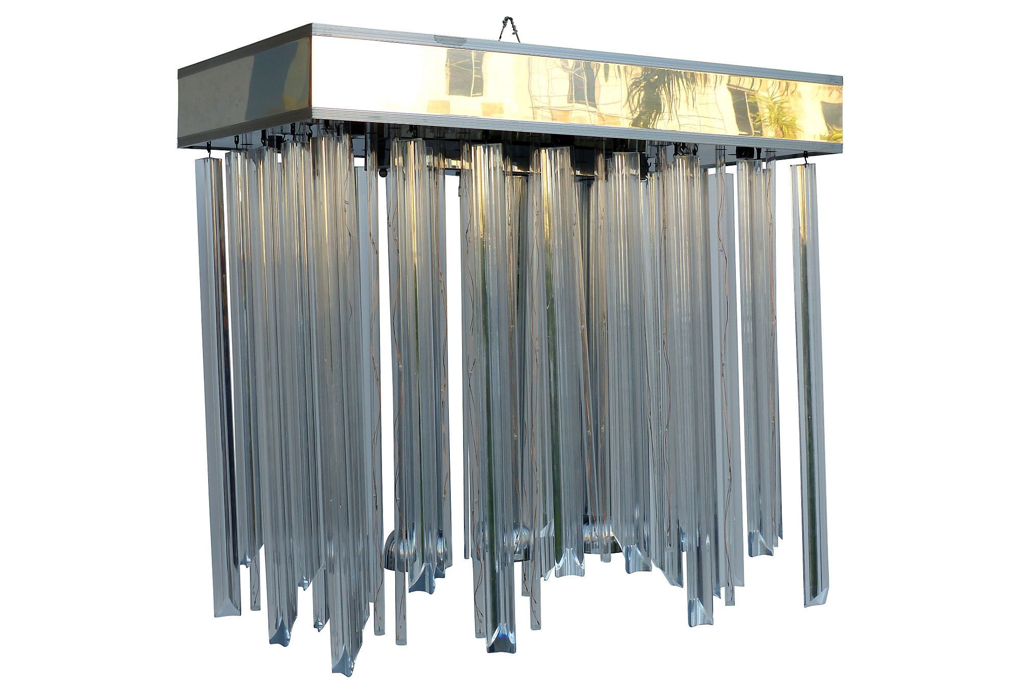 lucite sale at chandelier pamono for kalmar from