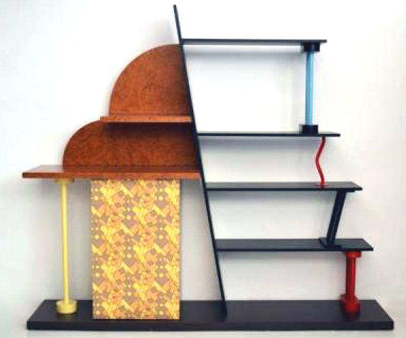 Shelf Malabar Ettore Sottsass Memphis Modernism