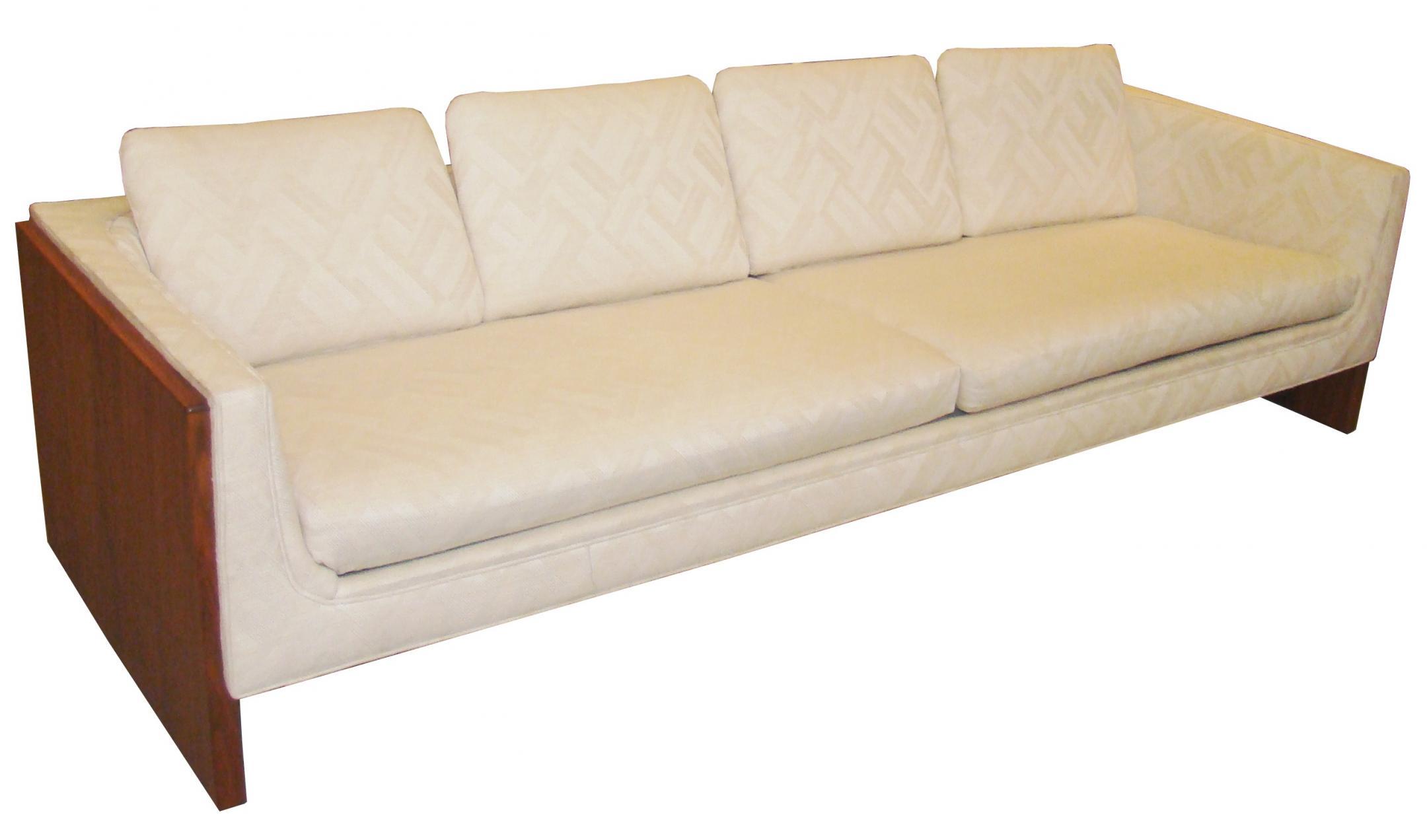 Very Elegant Sleek Low 1970 39 S Mid Century Modern Sofa