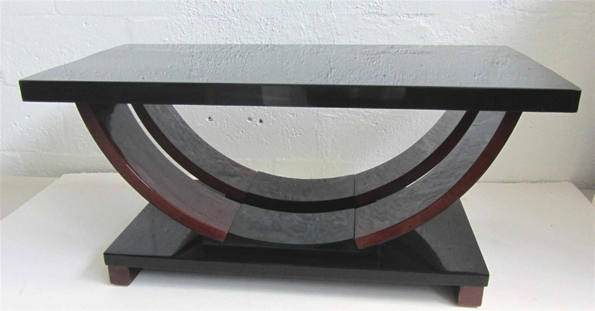 Modernage American Art Deco Streamline Design Coffee Table