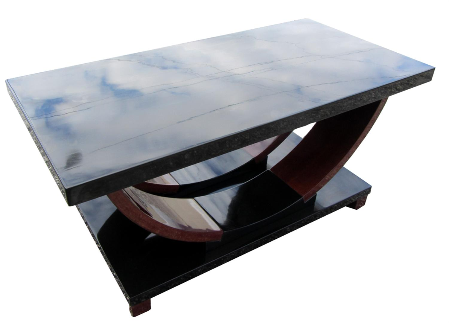 modernage american art deco streamline design coffee table modernism. Black Bedroom Furniture Sets. Home Design Ideas