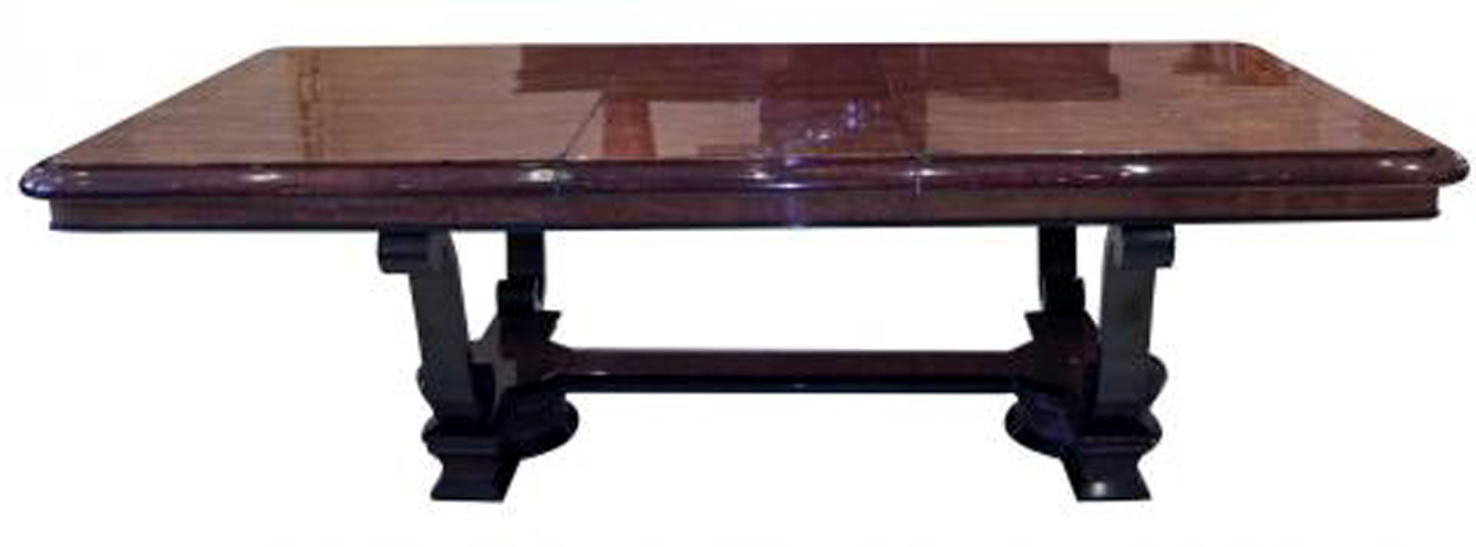 A Great Art Deco Dining Table Seating 10 Modernism