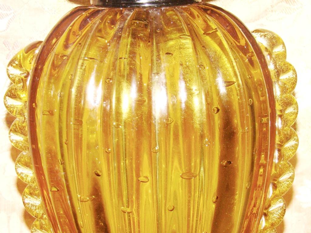 Cordonato D Oro Barovier Amp Tosso Murano Glass Table Lamp