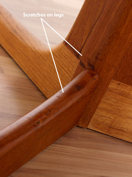how to refinish a teak wood table top 2