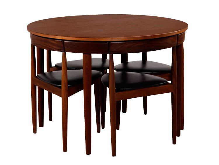 Restored Hans Olsen Frem Rejole Dining Set
