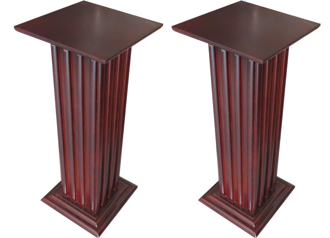 Pair Of American Art Deco Pedestals Modernism