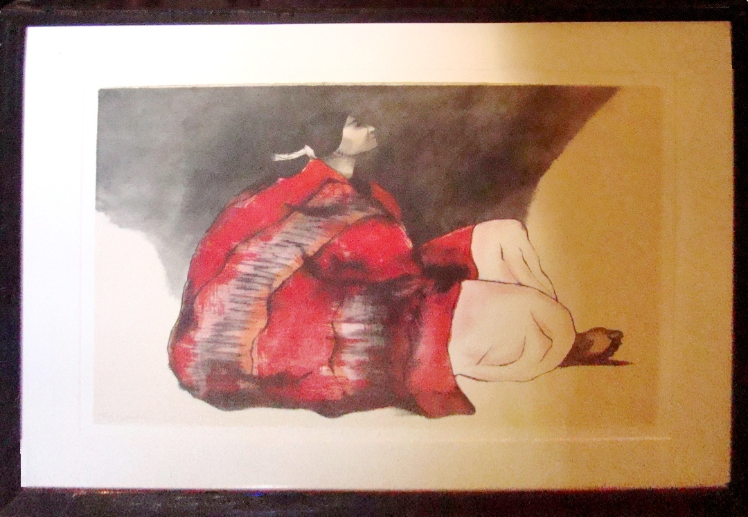 Large And Colorful R C Gorman Lithograph Signed Numbered