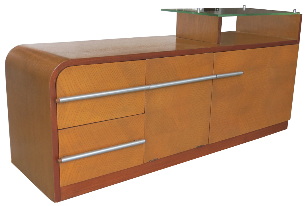 Gilbert rohde american art deco cabinet or chest modernism for Examples of art deco furniture