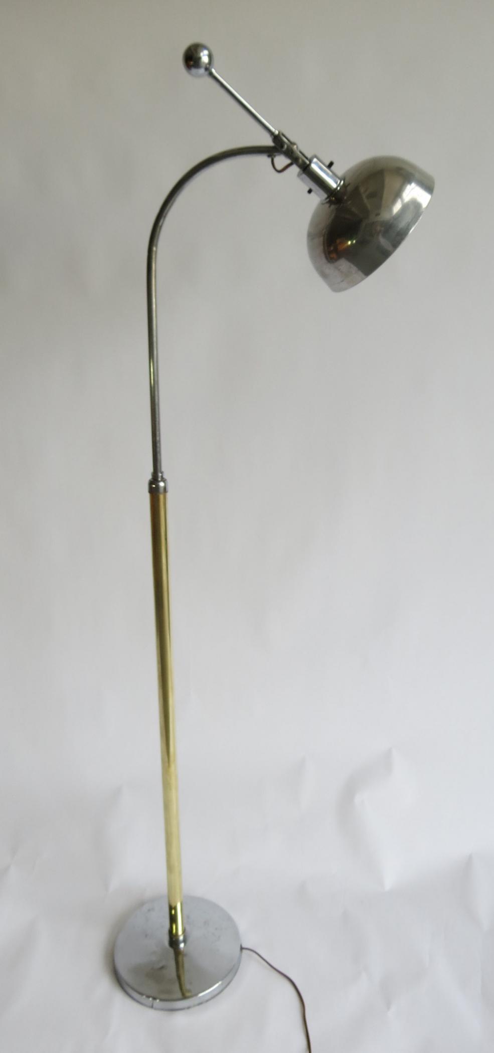 Gilbert Rohde Floor Lamp Modernism