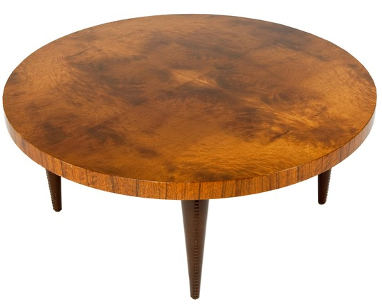 gilbert rohde paldao group art deco round coffee table modernism. Black Bedroom Furniture Sets. Home Design Ideas