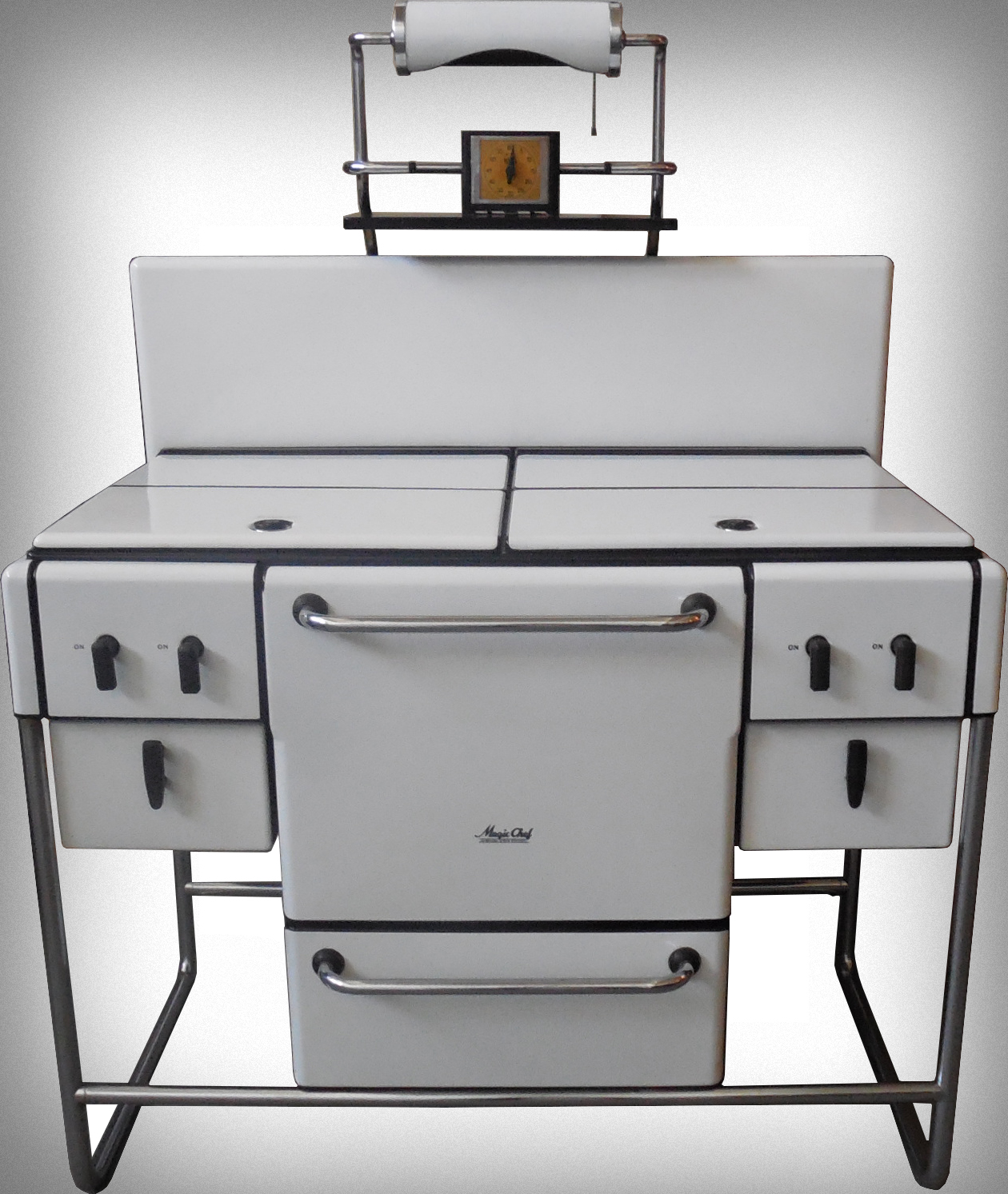 American Art Deco Stove And Oven Modernism