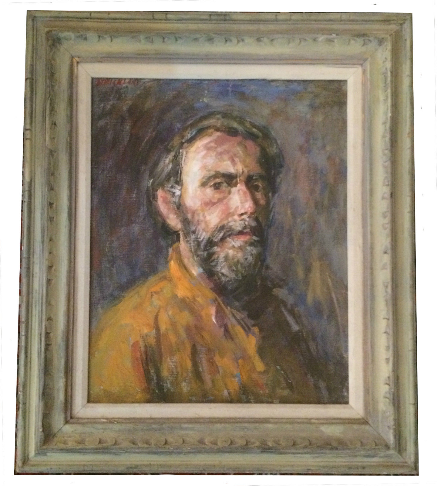 New Jersey Home Painting From J S Painting: Thomas J Strickland Self Portrait Oil Impressionist