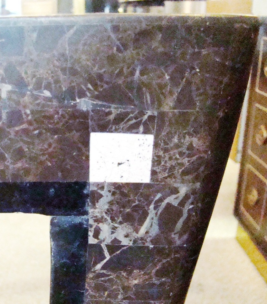 Tessellated Marble And Stone Table Modernism