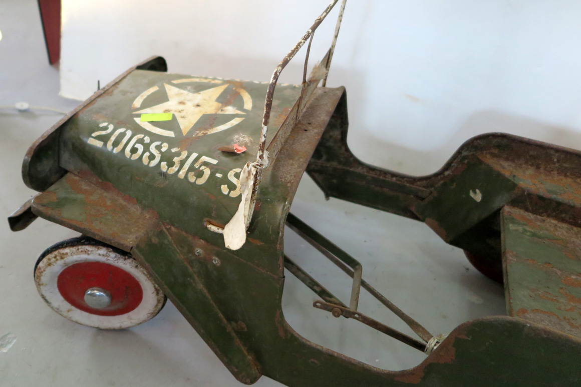 Jeep Dealer Miami >> Tri-ang Willys Jeep Pedal Car US Army | Modernism