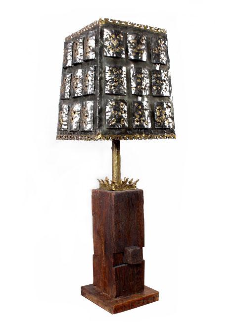 Brutalist Table Lamp Modernism