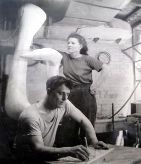 Helen Elizabeth Phillips Hayter and William Hayter