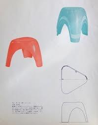Sori Yanagi Butterfly Stool Elephant Stool Modernist