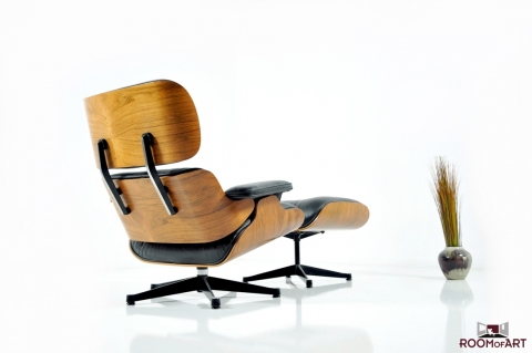 Eames lounge chair ottoman in palisander modernism - Eames lounge chair prix ...