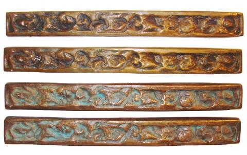 Forms And Surfaces Mid Century Modern Bronze Door Pulls