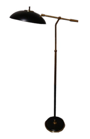 Gerald Thurston For Lightolier Articulating Arm Floor Lamp