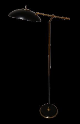 Gerald Thurston For Lightolier Articulating Arm Floor Lamp