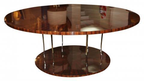 streamline design art deco dining table seats 10 art deco dining room table