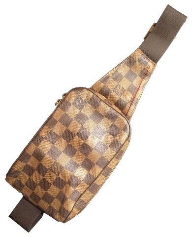 Louis Vuitton Geronimo Damier Crossbody Bag Modernism