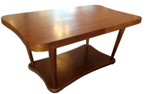 Gilbert Rohde American Art Deco Paldao Group Dining Table