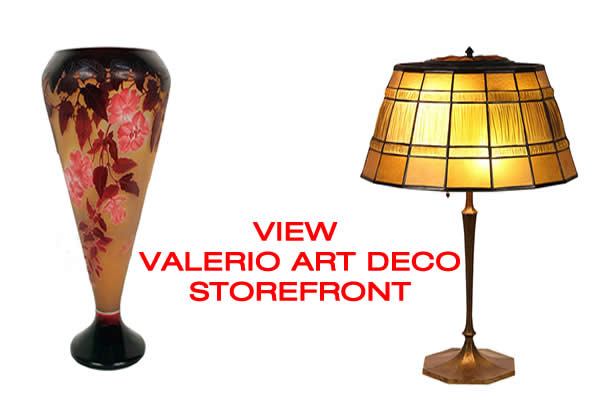valerio art deco on modernism