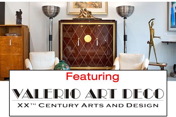 featuring valerio art deco website from modernism
